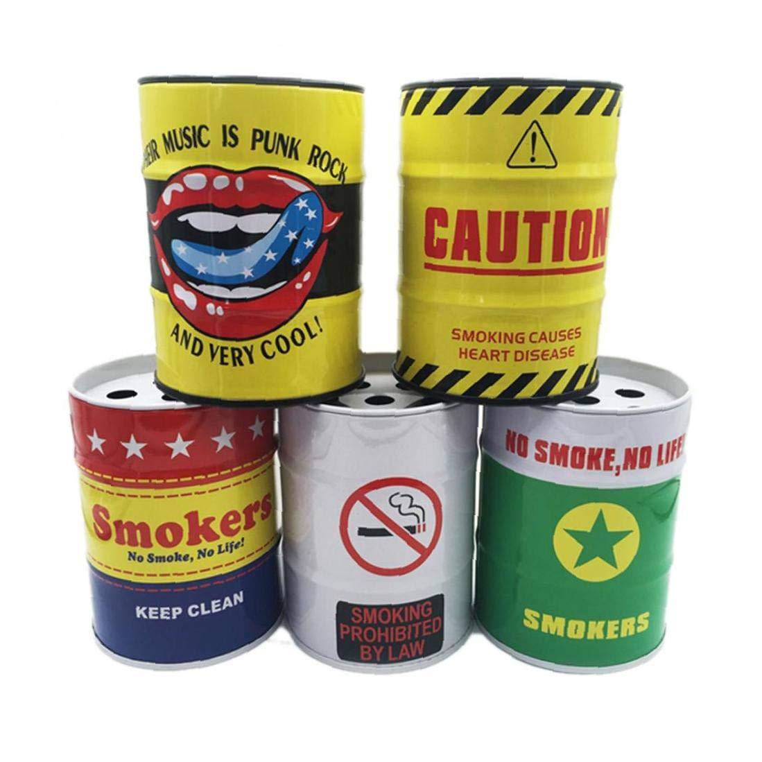 Random Styles BYFRI Zigarettenhalter Auto-Aschenbecher Tragbare Smokeless Kann Fahrzeug Rauch Universal-Flaschenhalterung