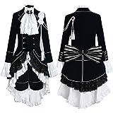 Holran Black Butler Ciel Phantomhive Cosplay Costume Any Size