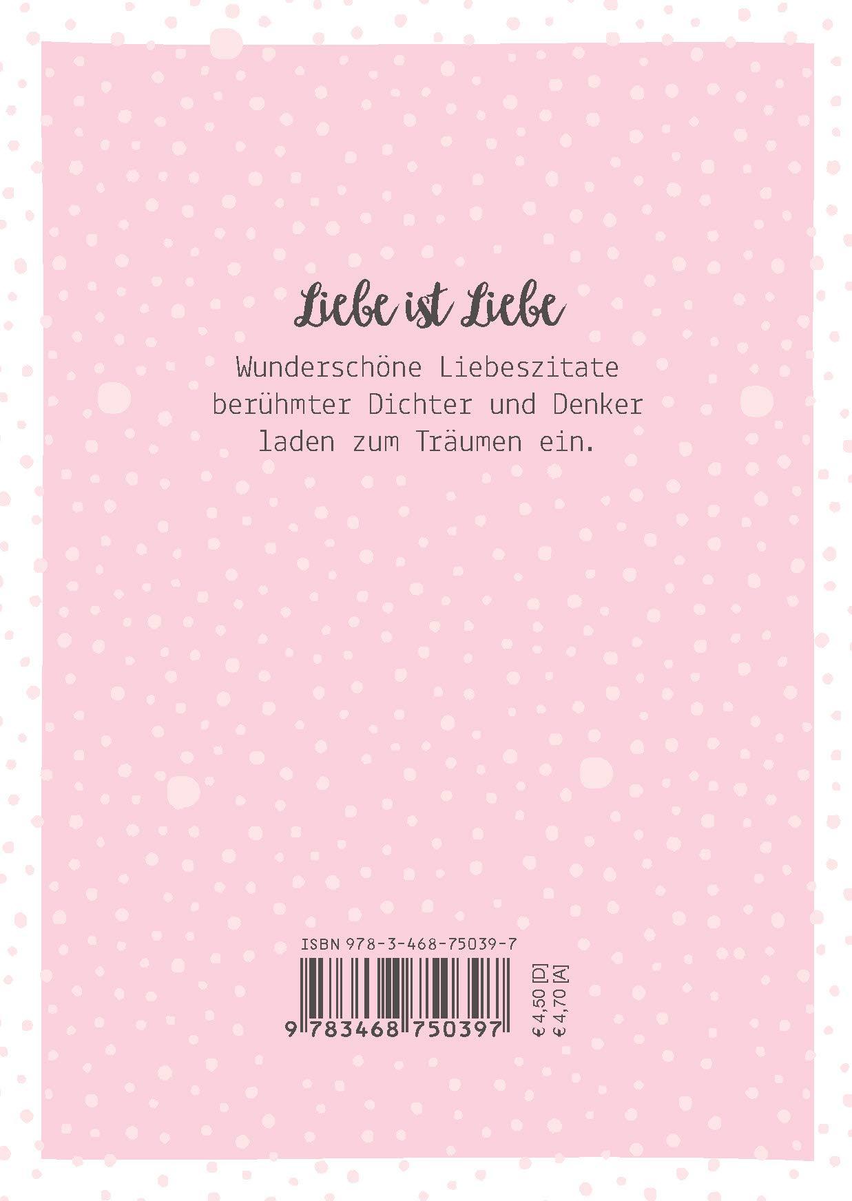 Liebe Ist Liebe Mini Buch Zitate Die Von Herzen Kommen