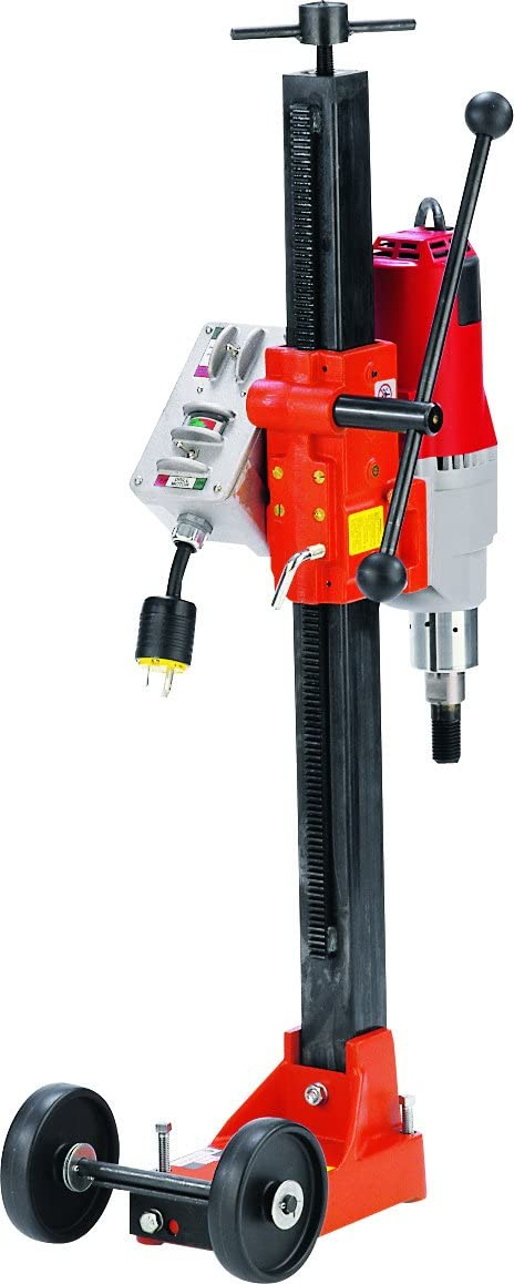 Diamond Products 01784 Core Bore M-1 Complete Combination Drill Rig with 20 Amp Milwaukee 4004 Motor