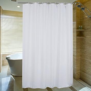 Amazon.com: Aoohome Fabric Heavy Duty Shower Curtain, Extra Long ...