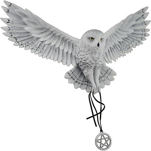 Veronese Design Anne Stokes Awaken Your Magic Snowy Owl