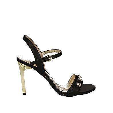 8e1b79cde76e Versace Jeans Damen Sandalen, Schwarz - Schwarz - Größe  40 EU ...