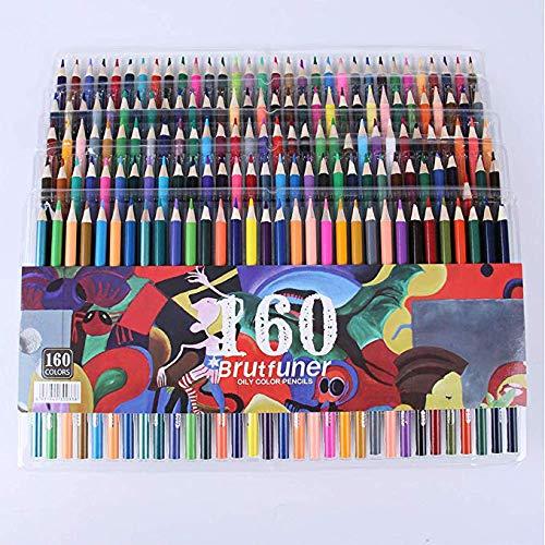 160色鉛筆 ソフトコアオイリー色鉛筆セット 大人塗り絵 絵画 スケッチ アート用品