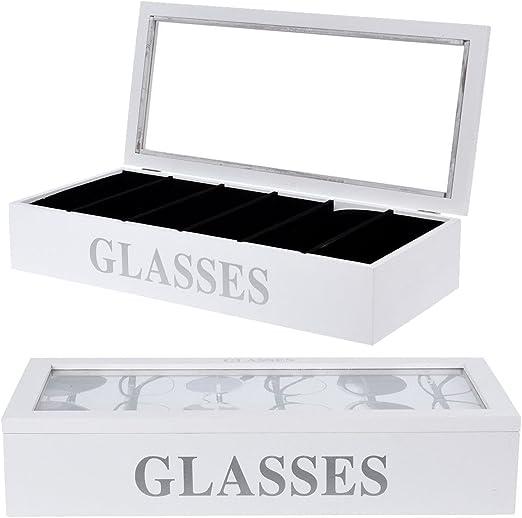 LS Gafas de sol caja joyero Gafas – Gafas de sol – Caja para guardar Gafas: Amazon.es: Hogar