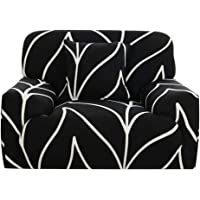 uxcell® Stretch Sofa Covers Couch Cover 1 2 3 4 Seaters Polyester Spandex Fabric 1 Piece Sofa Slipcover for Chair Loveseat Sofa Elastic Furniture Protector with One Free Cushion Case