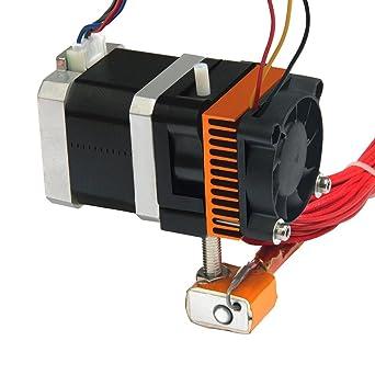 Geeetech - MK8 RepRap - extrusor de impresora 3D Kossel, boquilla ...