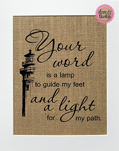Bible Verse Light To My Path in US - 9