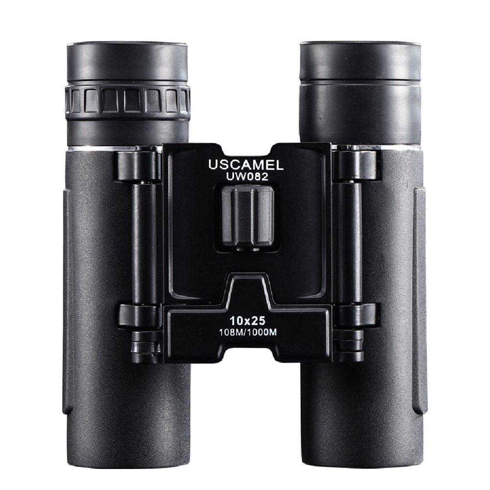 VORCOOL 10 x 25 mm HD折りたたみコンパクト双眼鏡ミニポケット望遠鏡観光のSafari大人キッズアウトドアバードウォッチングハイキングとスポーツイベント B07D71S117