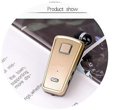 3ecbafa8639 Amazon.com: MAKEEN TSHIRT 2018 F980 Wireless in-Ear Handsfree with Microphone  Headset Mini Bluetooth Earphone,F980 Gold Relax Massager: Kitchen & Dining