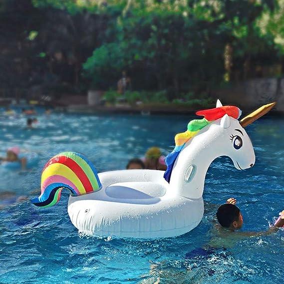 SanXingRui Unicornio Hinchable, Flotante Gigante del Unicornio ...