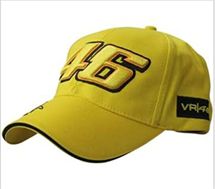 Buy CZY Motogp Valentino Rossi 46 Baseball Hat Peaked Outdoor Sport ... d9082e2c067