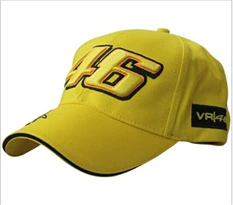 3c1aa485852 Buy CZY Motogp Valentino Rossi 46 Baseball Hat Peaked Outdoor Sport Cap  Online at Low Prices in India - Amazon.in