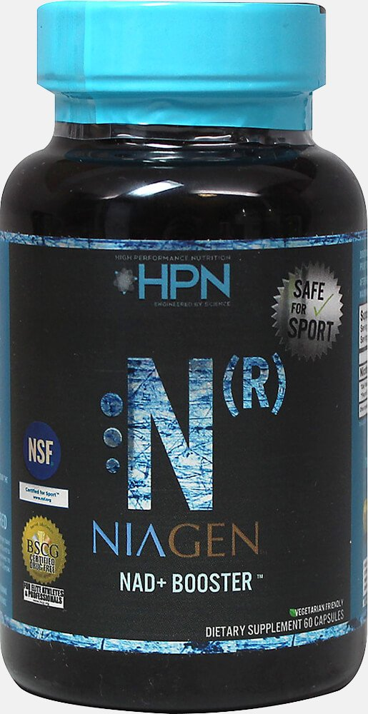 High Performance Nutrition Niagen Nicotinamide Riboside Capsules, 60 Count