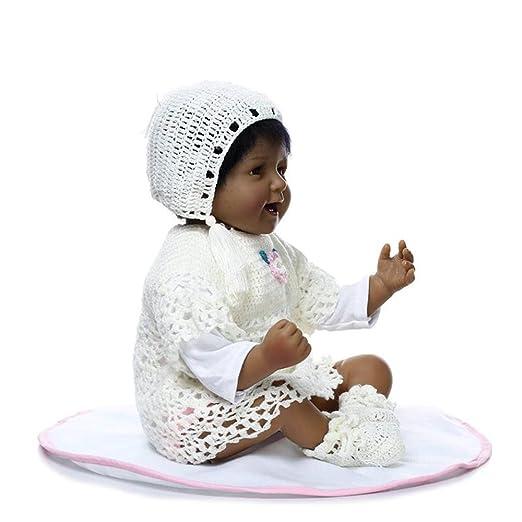 Amazon.com: justtoyou Reborn de silicona suave Baby Dolls ...