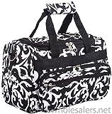 Damask Duffle Bag
