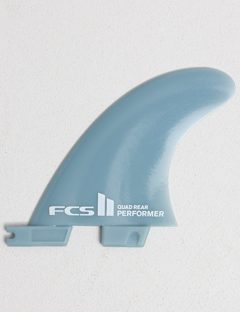 Medium FCS II Performer Glass Flex Quad Rear Surfboard Fins