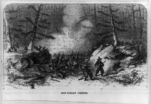 Photo: Indian ambush,attack,Native Americans,colonists,King Philip's - Ny Shopping In Albany