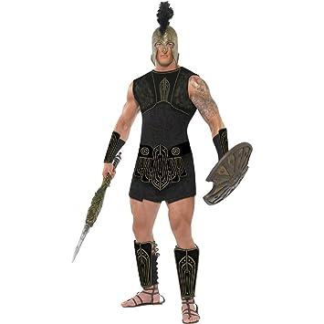 Disfraz de romano traje gladiador Aquiles: Amazon.es ...