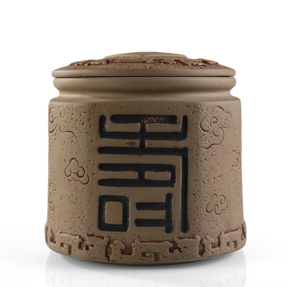 Porcelain Tea Tin,Ceramics Tea Caddy,Tea Canister,Tea Box Mug Super Large Ceramic Tea Jar