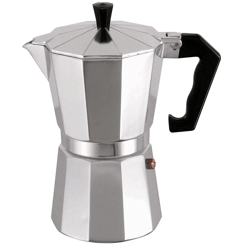 MSV Espressokocher Espresso Mokka Maker Kaffeebereiter Aluminium - 6 Tassen 374/110015