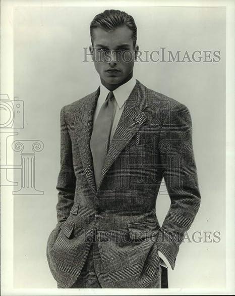 Ralph Lauren - Traje de lana de un solo pecho para 1995: Amazon.es ...