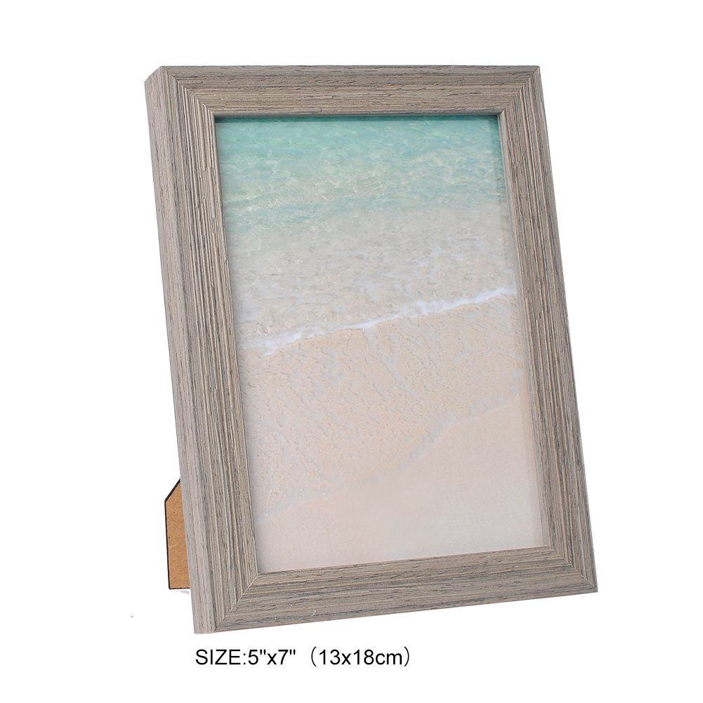 LIYOU Picture Frame,Classical Wooden Shape 5 By 7-Inch/4 By 6-Inch/8 By 10 Inch Picture Frame,Elegant European Style Decoration for Photo Display,3 Color Available