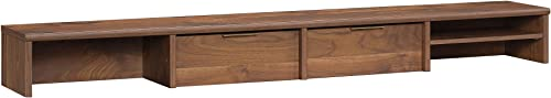 Sauder Clifford Place Organizer Hutch, Grand Walnut finish