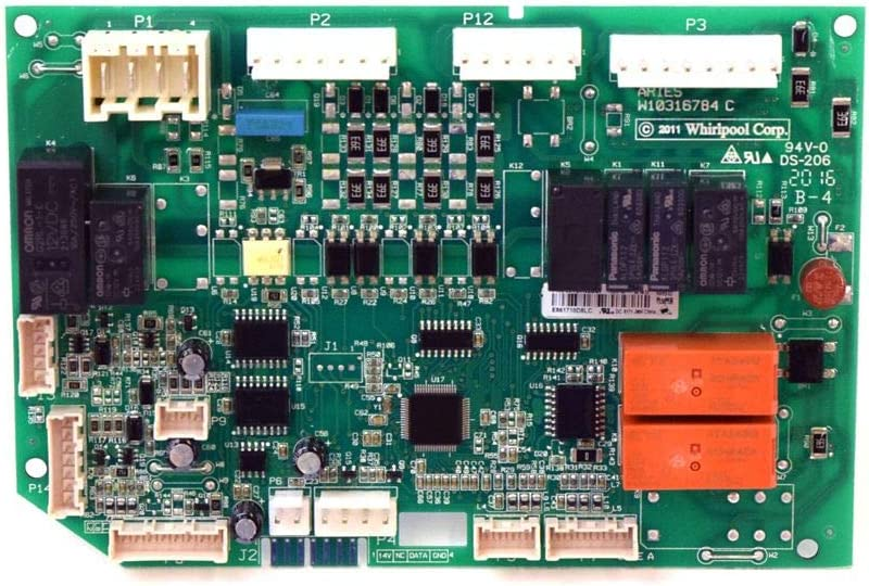 Whirlpool W10743957 Refrigerator Electronic Control Board Genuine Original Equipment Manufacturer (OEM) Part