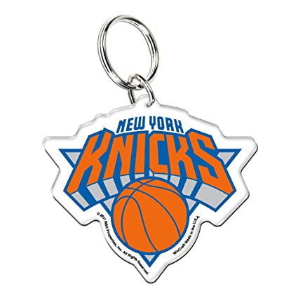 Amazon.com: NBA 21243011 New York Knicks acrílico Llavero ...