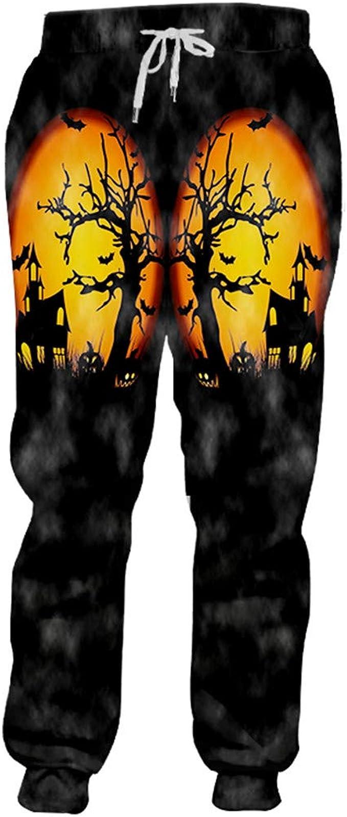 Pantalones de chándal de Halloween para Hombre Horrible ...