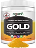Organifi: Gold - Superfood Supplement Powder- 30 Day Supply - Deep Sleep, Immunity and Cognitive Function Support…