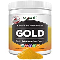 Organifi: Gold - Superfood Supplement Powder- 30 Day Supply - Experience Deeper...