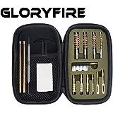GLORYFIRE Gun Cleaning Kit Handgun Cleaning Kit Pistol Cleaning Kit .22.357/9mm.40.45 Caliber Brass Jags Tips and 2…