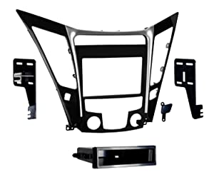 Metra 99-7342 Single/Double DIN Dash Installation Kit for 2011 Hyundai Sonata Vehicles