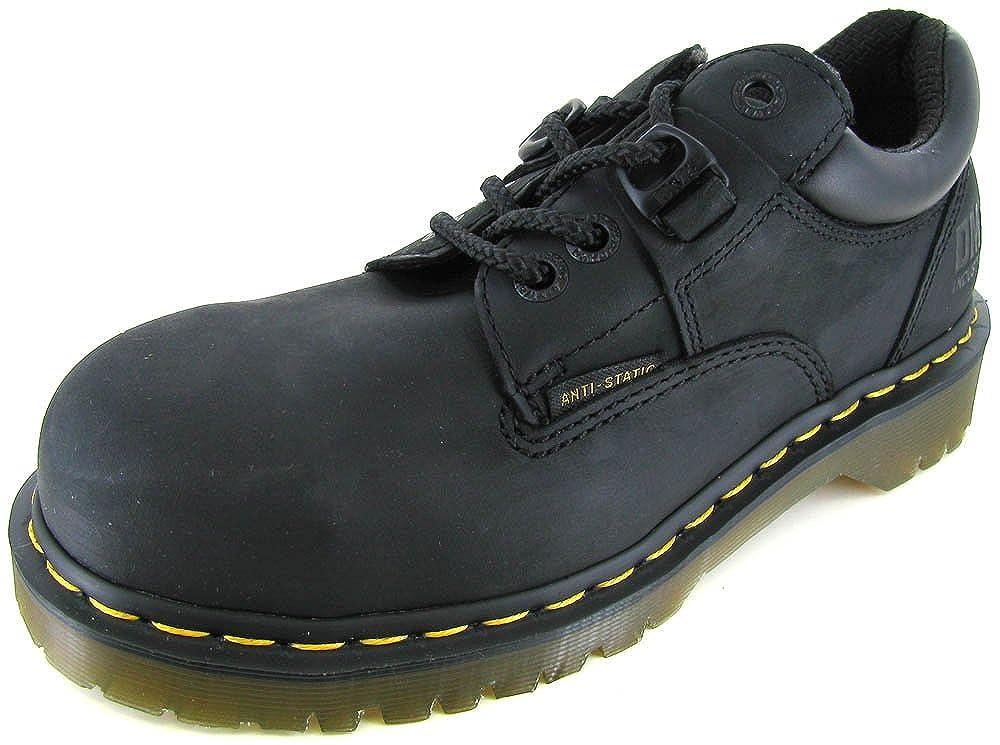 Martens Heritage Steel Toe Work Oxford Shoe Black UK 3//US W 5 Dr