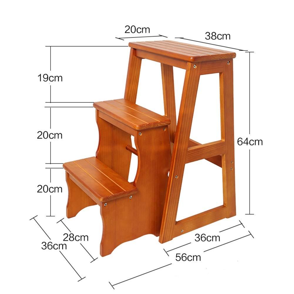 Brilliant Amazon Com Zxl Utility 3 Step Stool For Home Office Kitchen Machost Co Dining Chair Design Ideas Machostcouk