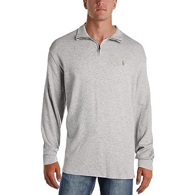 714e80df1 Ralph Lauren Mens Rib Pullover Sweater Grey S at Amazon Men s ...