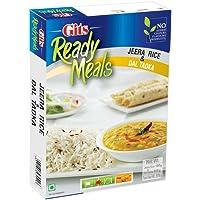 Gits Ready to Eat Jeera Rice & Dal Tadka - Combo Meal, 375g