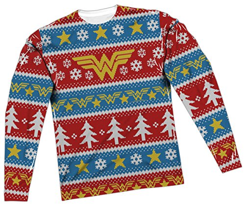 Ugly Christmas Sweater -- Wonder Woman T-Shirt