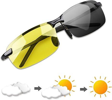 YIMI Gafas de Sol Hombre Deportivas Polarizadas Fotocromaticas ...