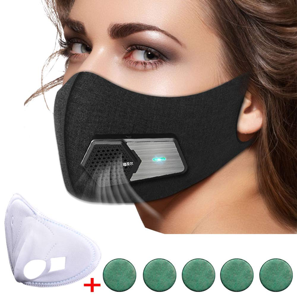 N95 Automatic Respirator Mask,Air Purifying Mask,Anti Pollution Mask For Pollen Allergy, Dust PM2.5, Running, Cycling and Outdoor Activities by Rsenr (Image #1)