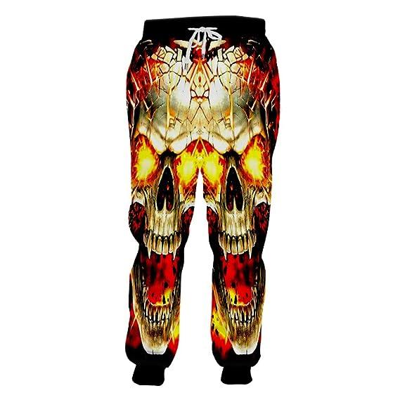 Gengemter Harajuk - Pantalones de chándal para Hombre y Mujer ...