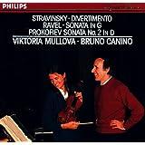 Viktoria Mullova - Stravinsky: Divertimento; Ravel: Violin Sonata in G; Profokiev: Violin Sonata No. 2 in D