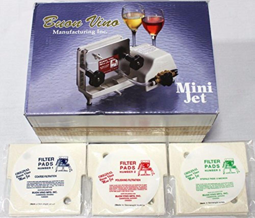 BUON Vino Complete Mini Jet Wine Filter