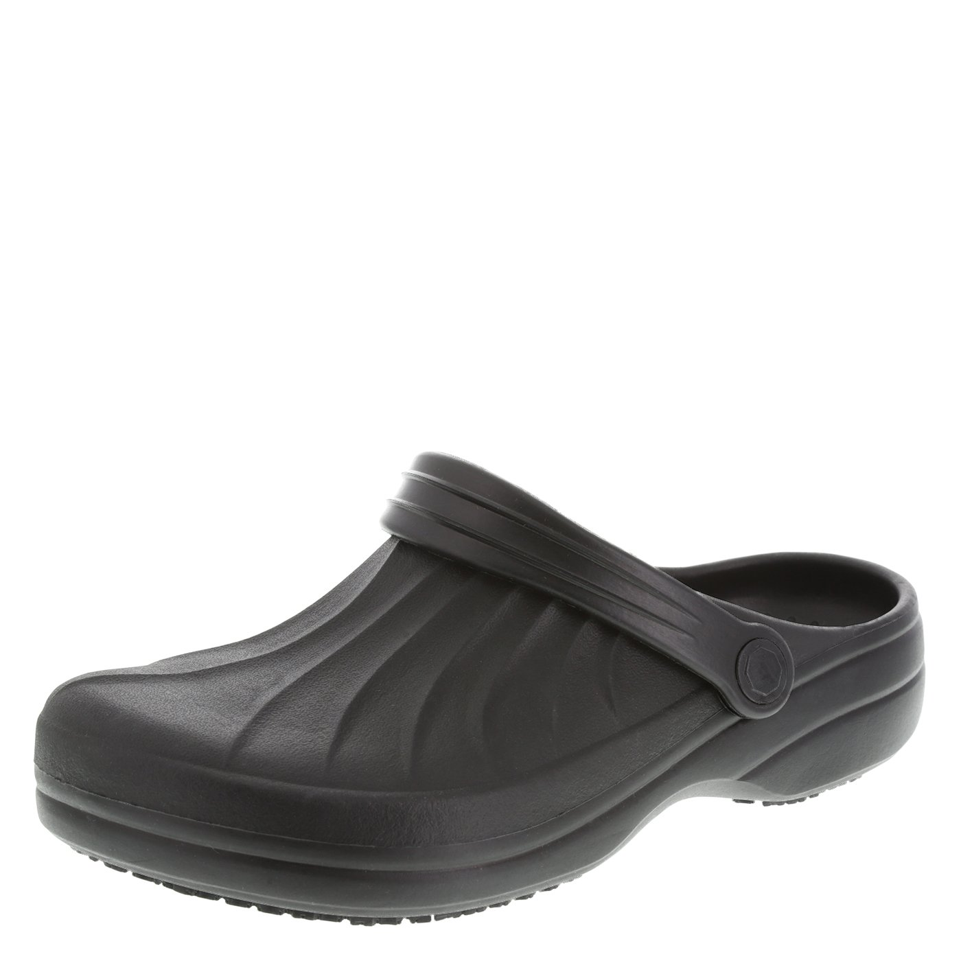 safeTstep Women's Black Slip Resistant Complete Clog 9 Regular