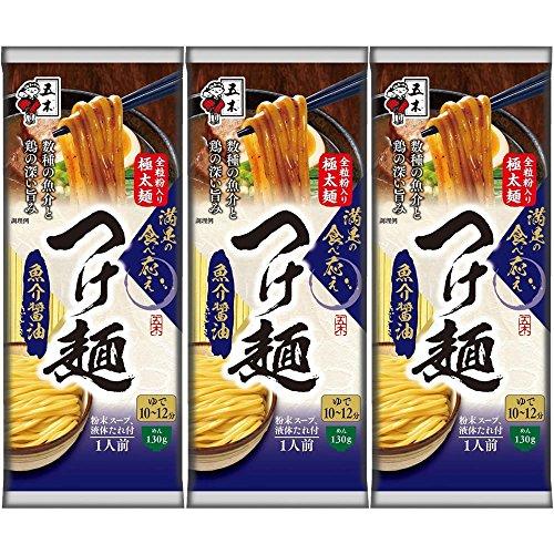 이츠키 식품 쯔케멘 생선 및 조개류 간장 180g×3 포