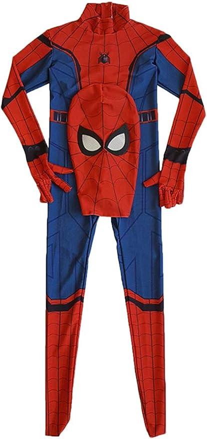 Homecoming Spiderman Costume Anime Zentai Costume Adulto Uomini Film Costumi Cosplay Costume Tutina Tutina,Adult,S Xyfw Spiderman