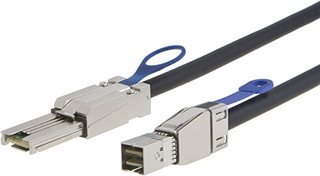 External Mini-SAS HD SFF-8644 to Mini-SAS SFF-8088 Cable 2 Meter