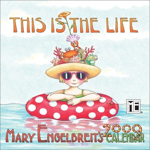 Mary Engelbreit's This Is The Life: 2009 Mini Wall Calendar by Mary Engelbreit (2008-09-01)